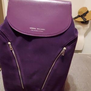 Serena Williams for purple purse foundation